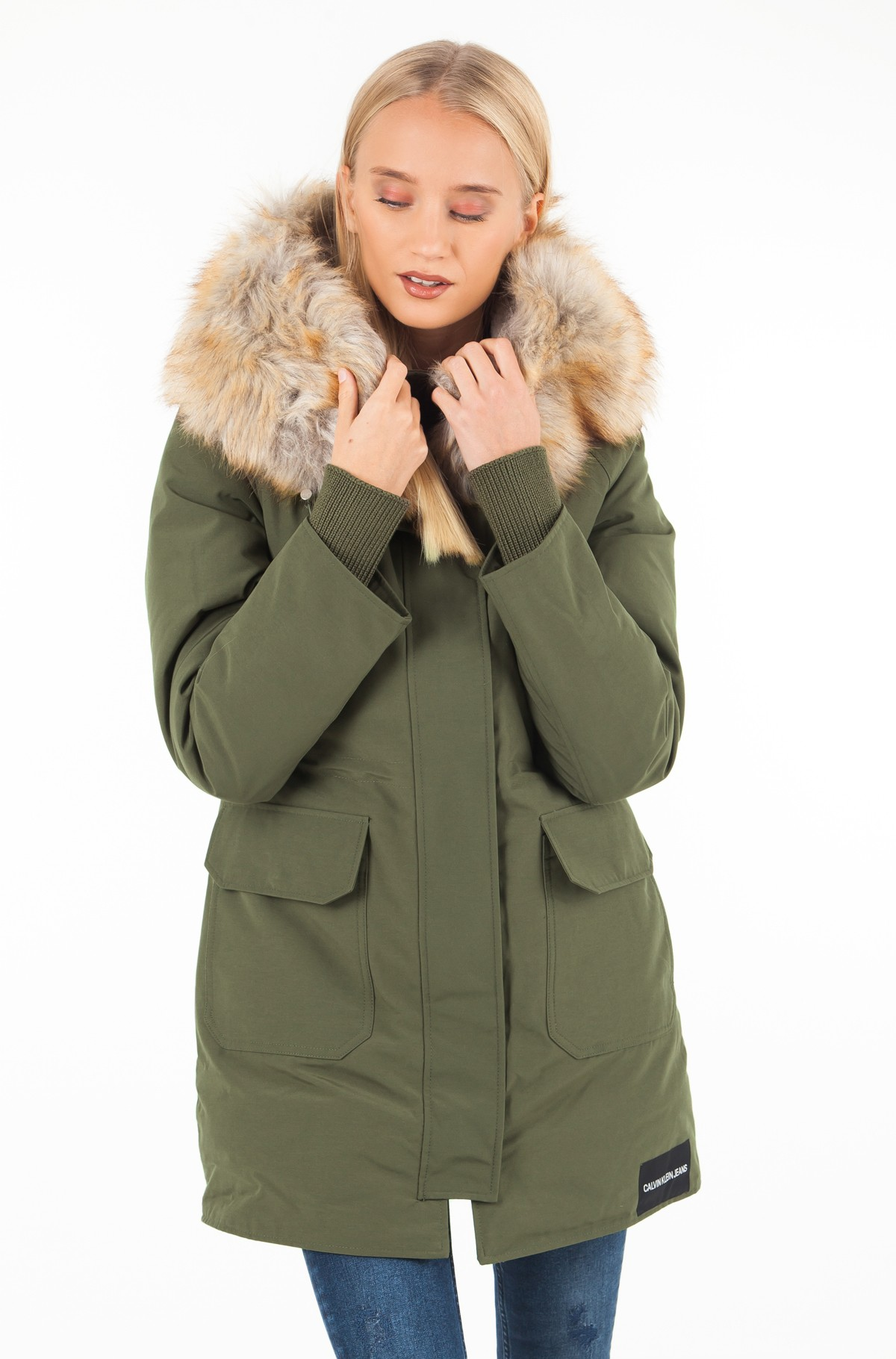 Parka MID WEIGHT DOWN NYLON PARKA-full-1