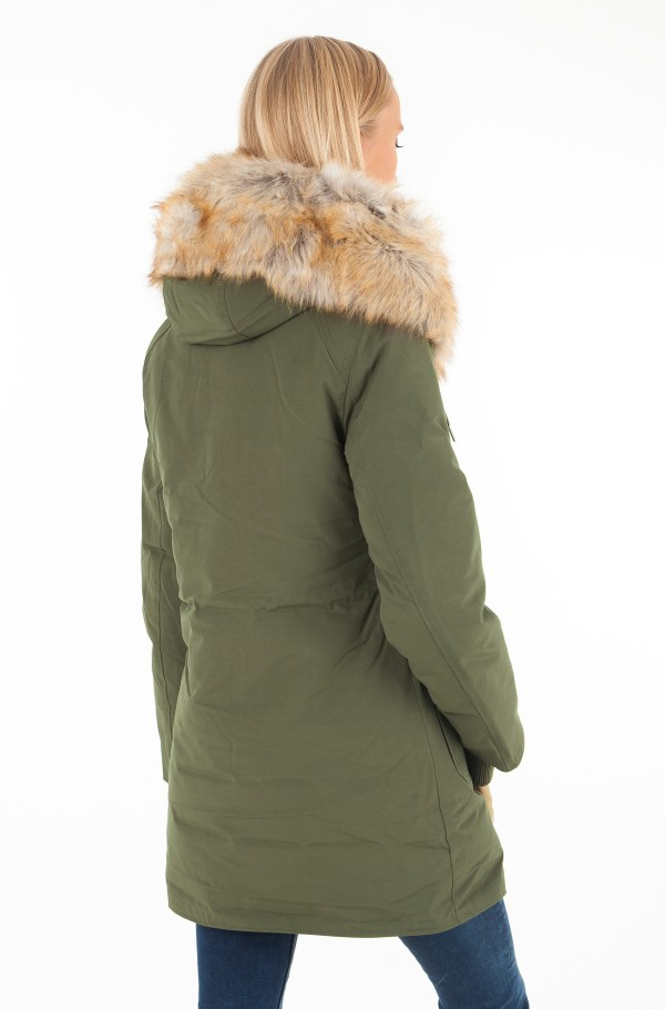 MID WEIGHT DOWN NYLON PARKA-hover