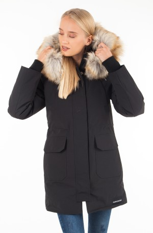 Skranda su gobtuvu MID WEIGHT DOWN NYLON PARKA-1