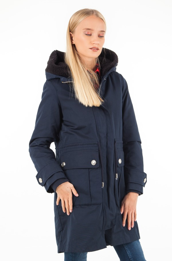 NEW CYNTHIA 2 IN 1 LONG PARKA