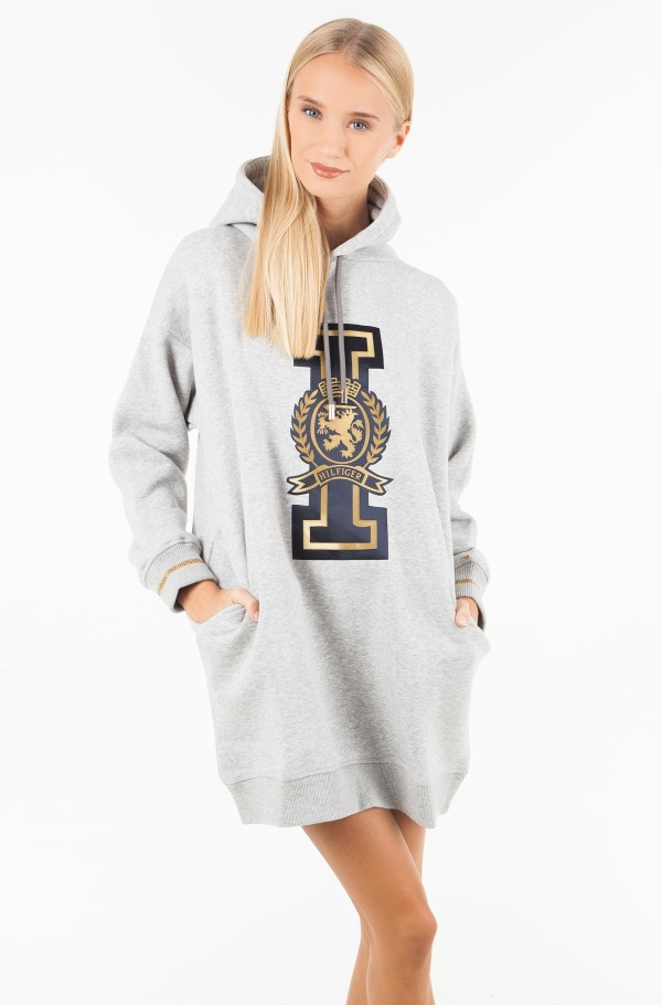 ICON NOELLA HOODED DRESS LS