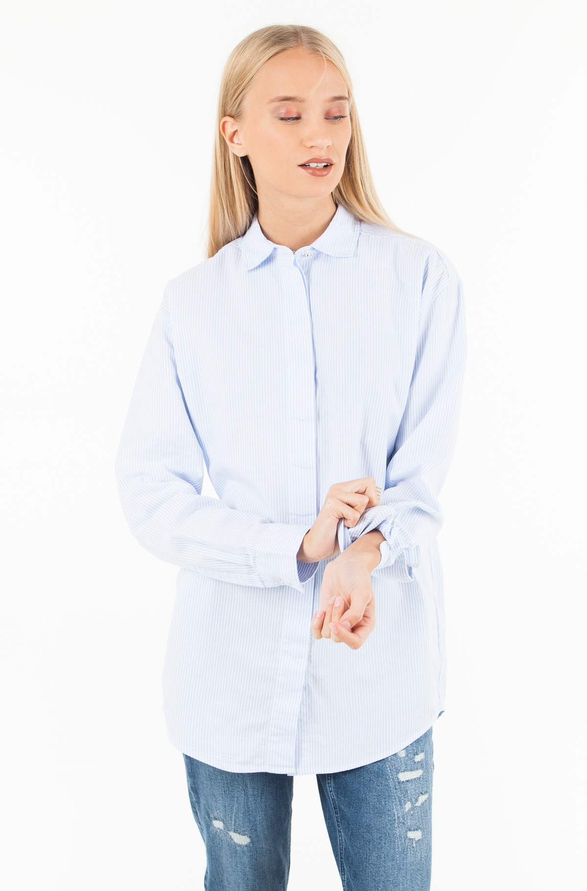 Marškiniai ICON PAMES BOYFRIEND SHIRT LS-full-1