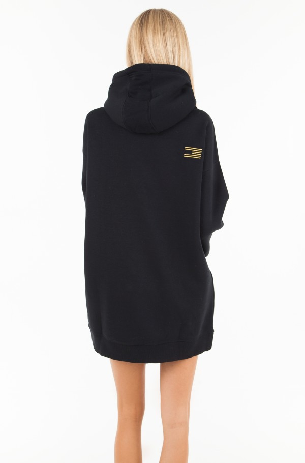 ICON NOELLE HOODED DRESS LS-hover
