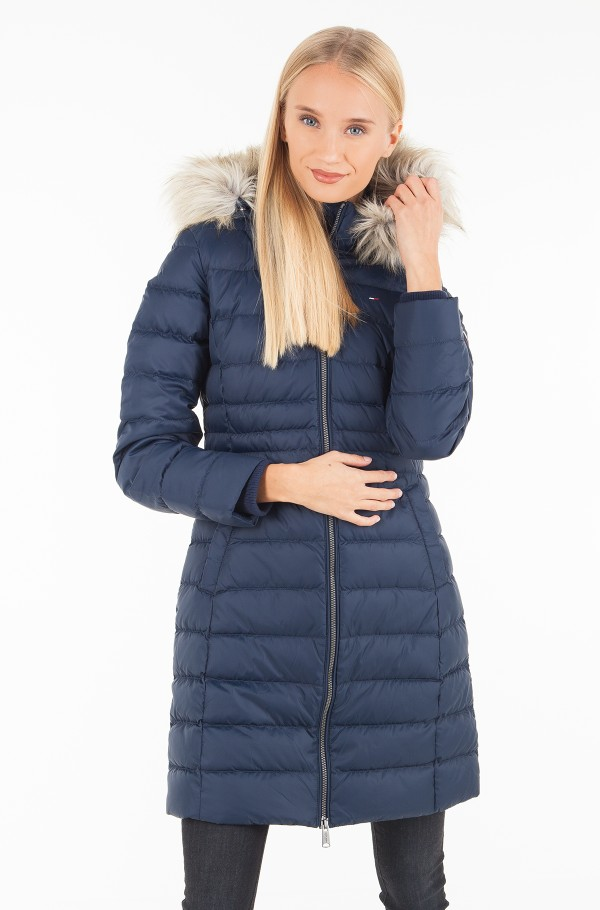 TJW ESSENTIAL HOODED DOWN COAT
