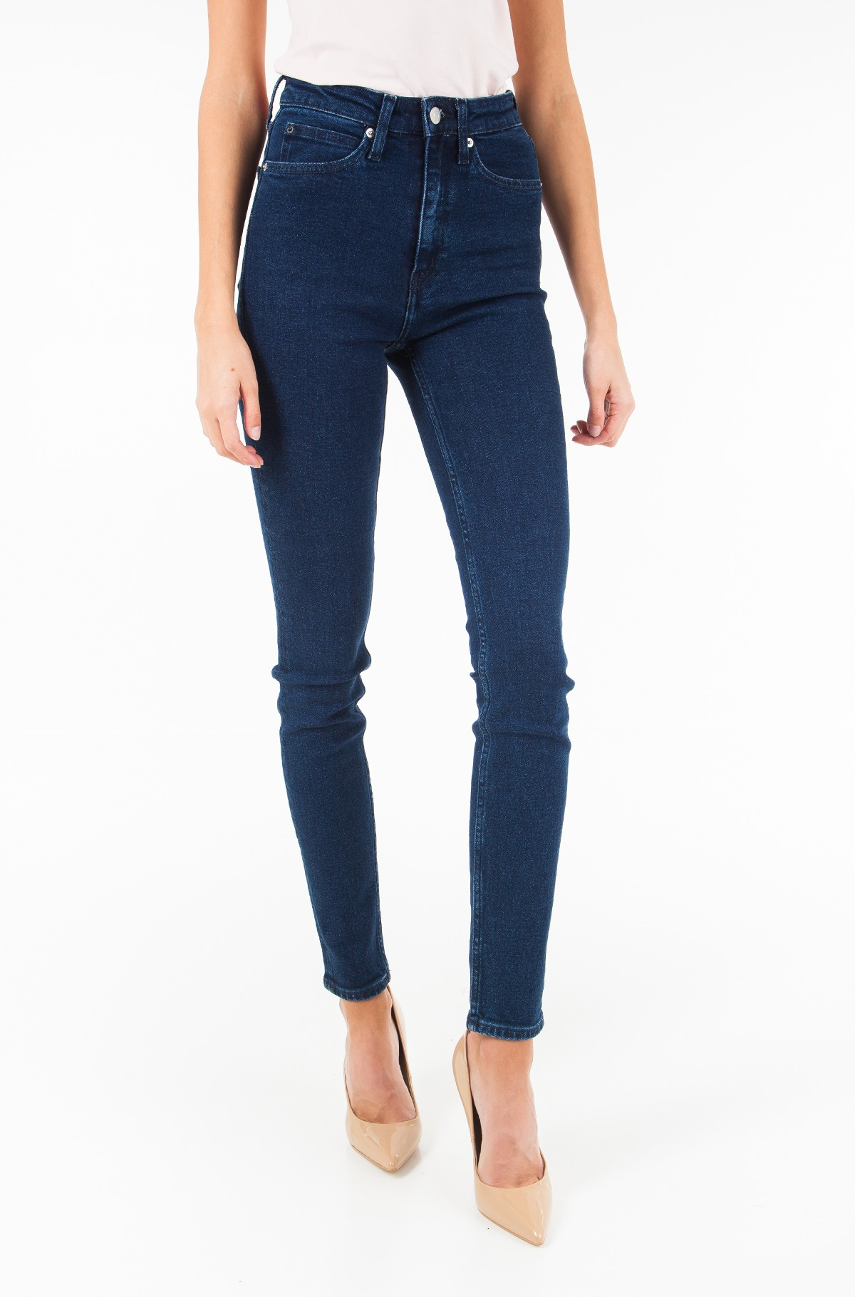 Džinsinės kelnės CKJ 010: High Rise Skinny West - Sanoma Blue	-full-1