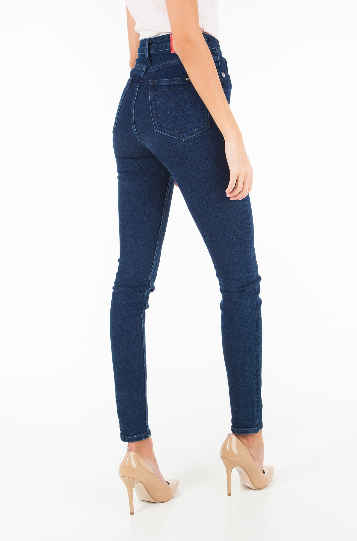 Džinsinės kelnės CKJ 010: High Rise Skinny West - Sanoma Blue	-full-2