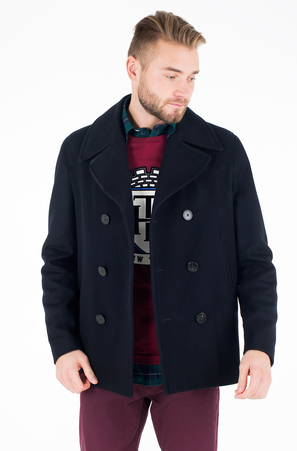 Mantel SHORT PEACOAT-full-1