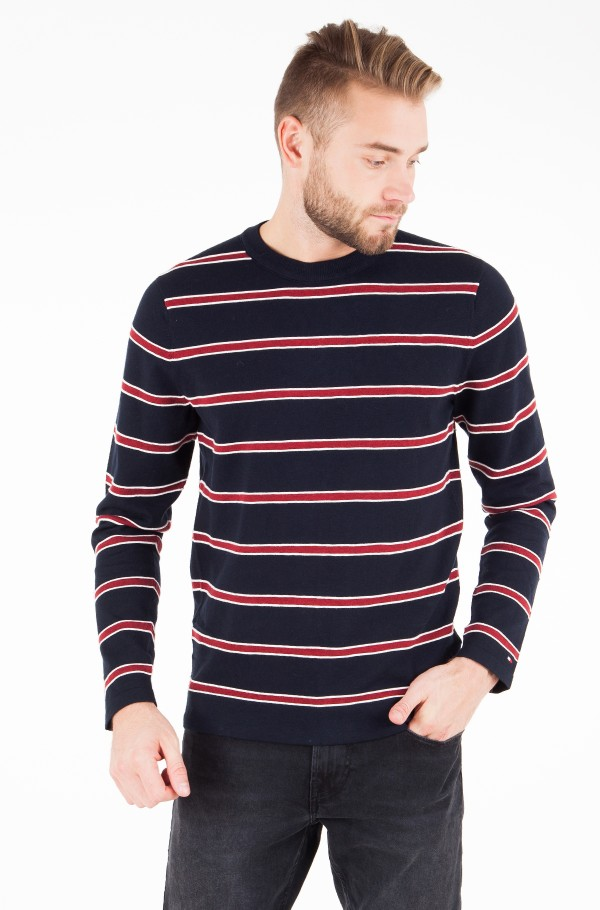 REGIMENTAL CLASSIC STRIPE CNECK
