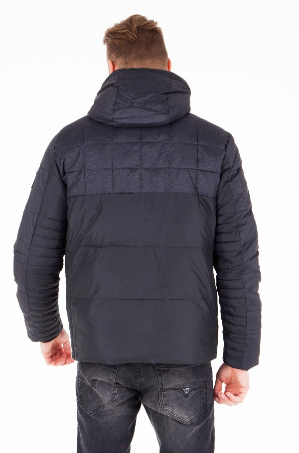 MIX MEDIA HOODED JACKET-hover