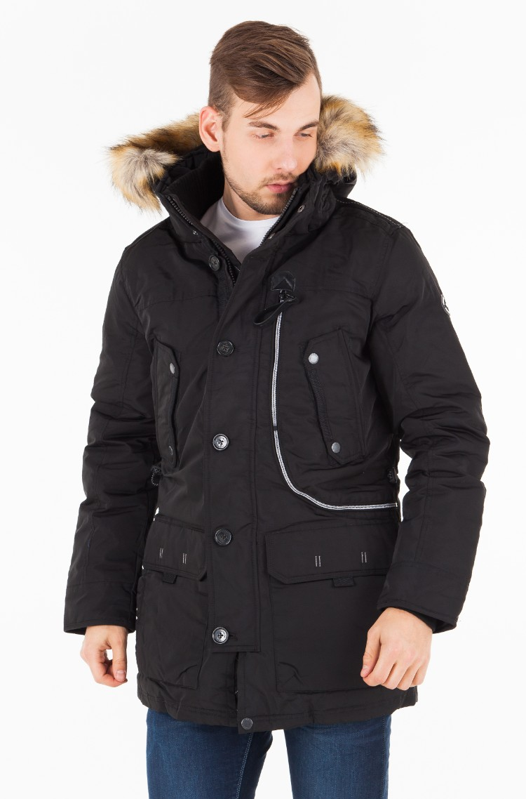 new design look for high fashion black Parka 3555325.00.10 Tom Tailor, Mens Parkas | Denim ...