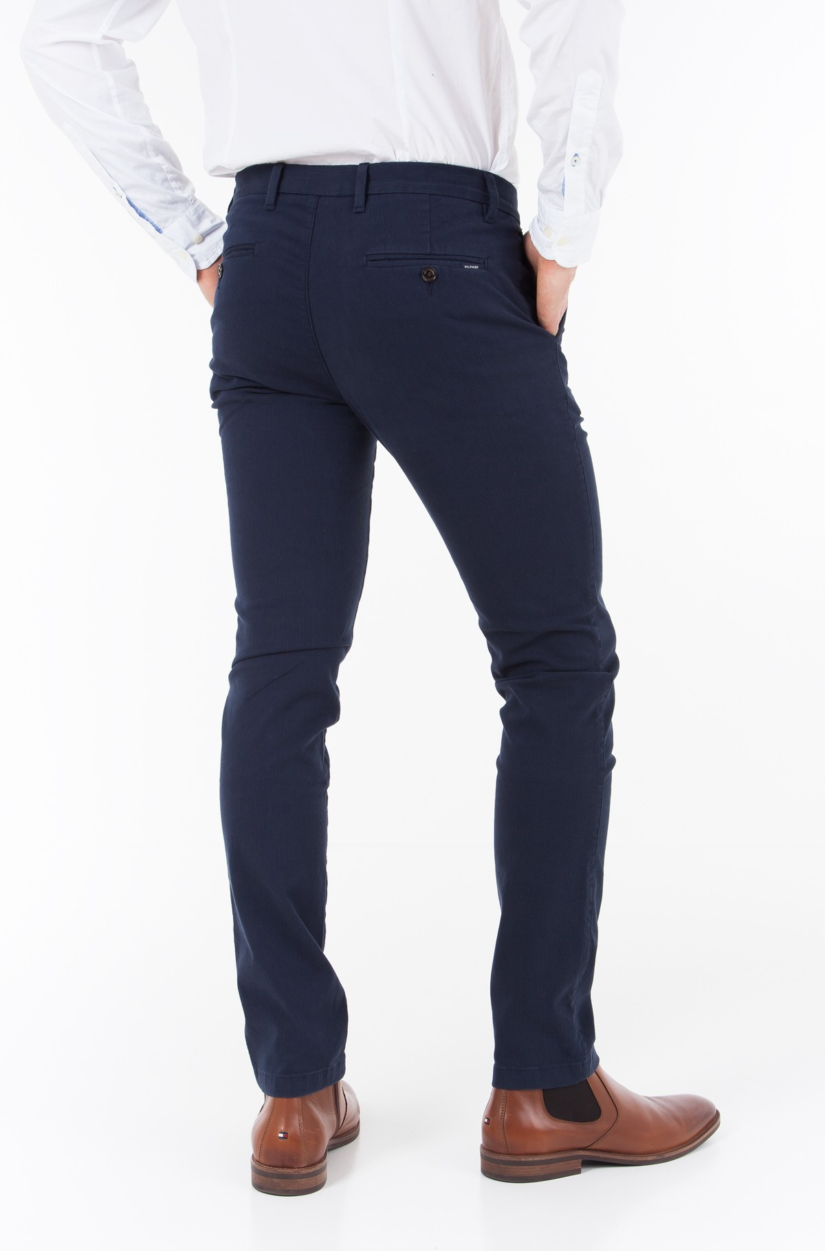 Trousers SLIM BLEECKER CHINO STR MELANGE	-full-2
