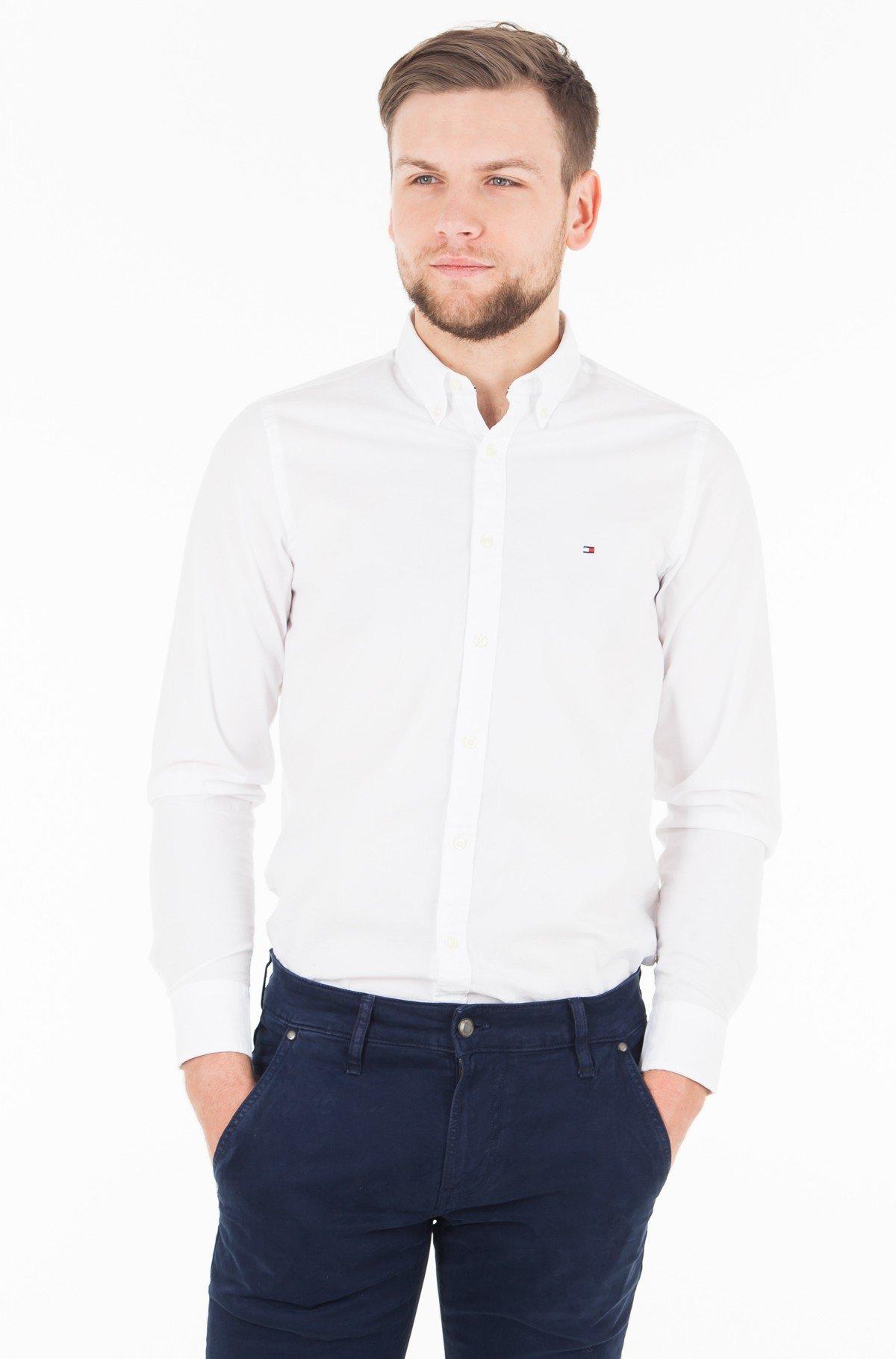 Shirt CORE STRETCH SLIM POPLIN SHIRT-full-1