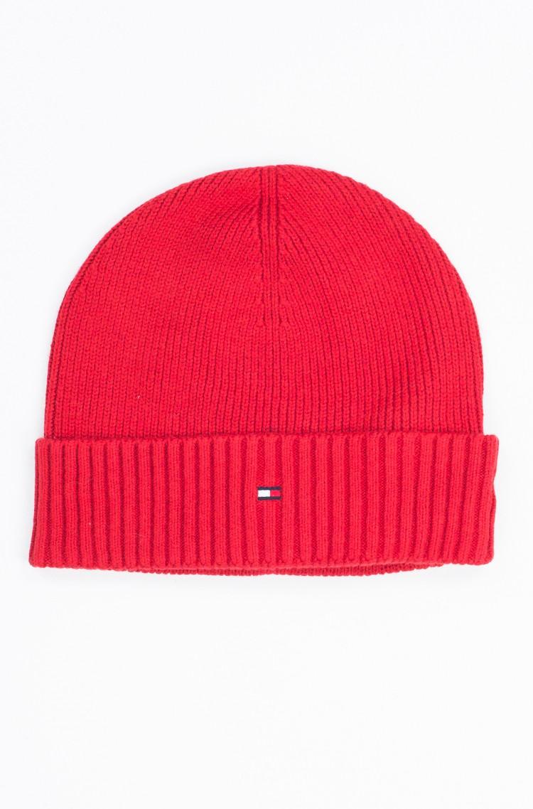 red 776 Hat Pima Cotton Cashmere Tommy Hilfiger 6ce4a60032cb