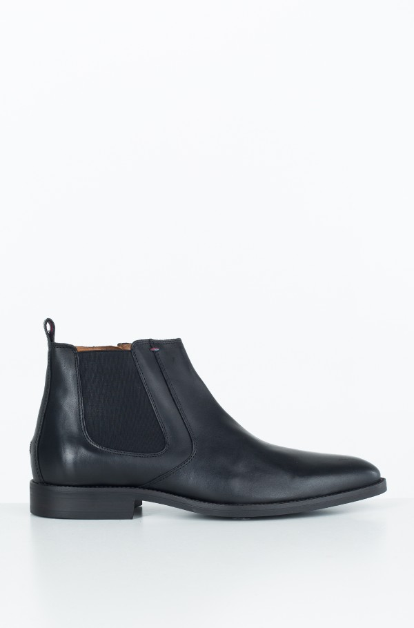 ESSENTIAL LEATHER CHELSEA BOOT