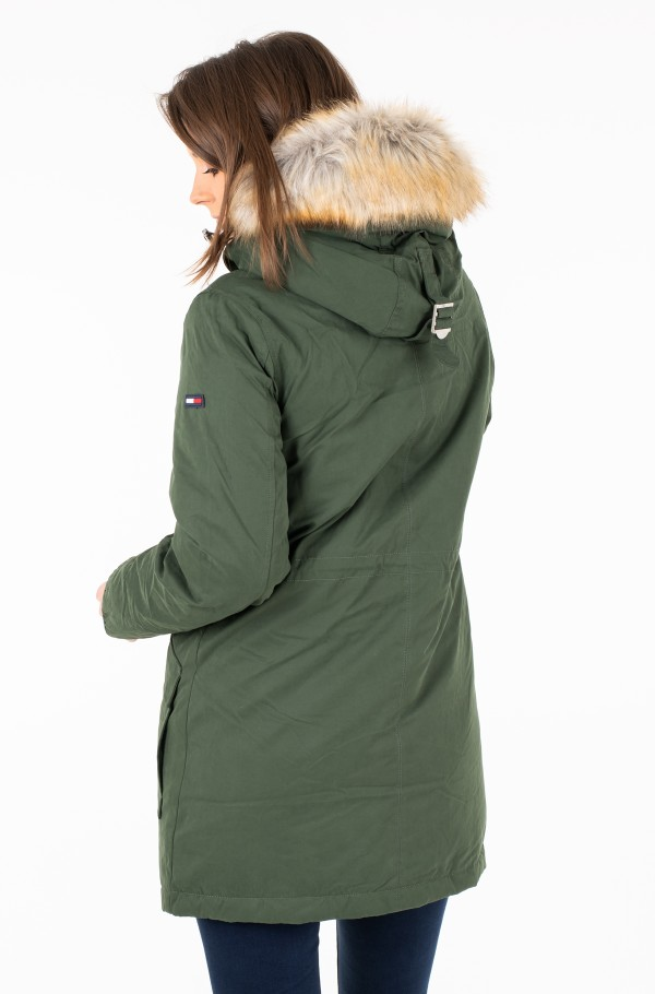 TJW HOODED DOWN SHERPA PARKA-hover