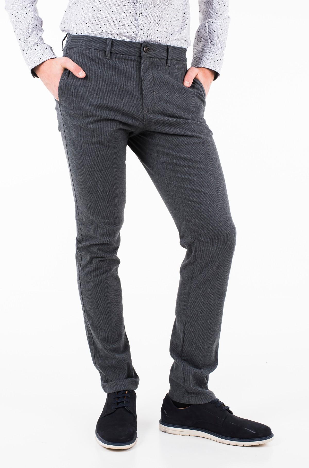 Trousers SLIM BLEECKER CHINO STR MELANGE-full-1