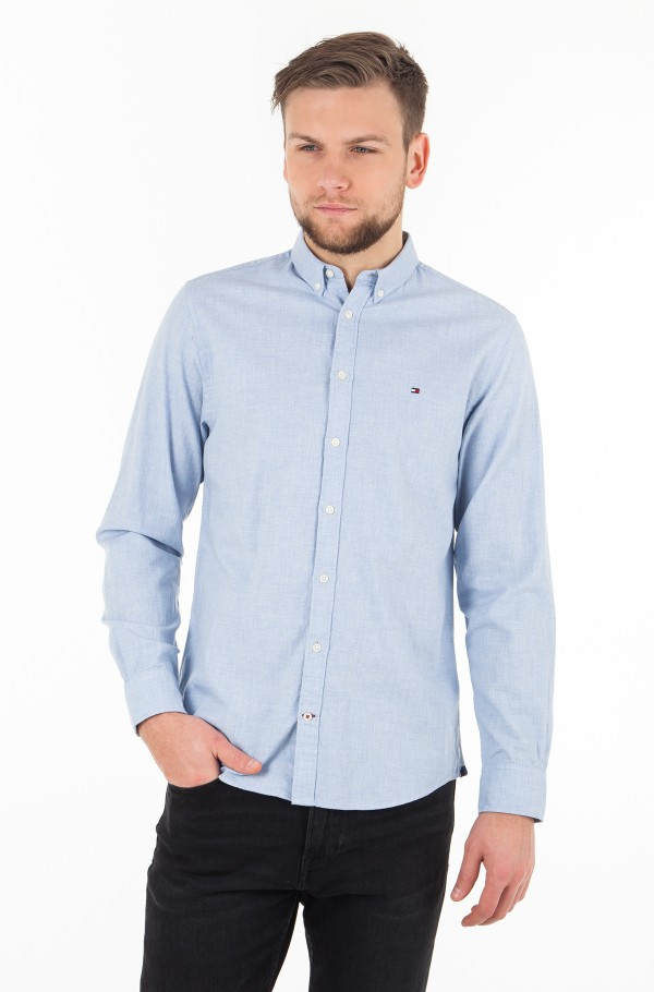 HEATHER HERRINGBONE SHIRT
