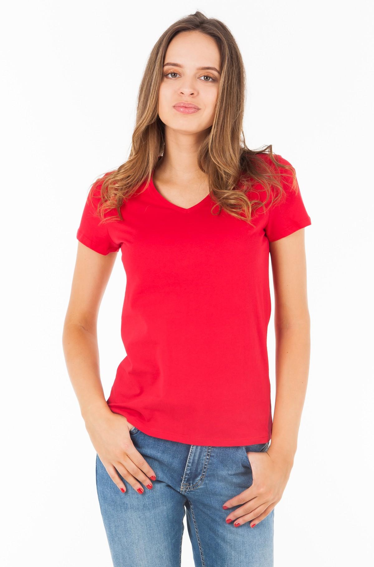 Marškinėliai INJ JEANA V-NK TEE SS-full-1
