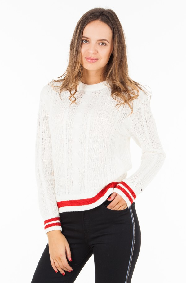 TJW EASY CABLE SWEATER