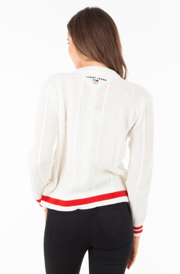 TJW EASY CABLE SWEATER-hover