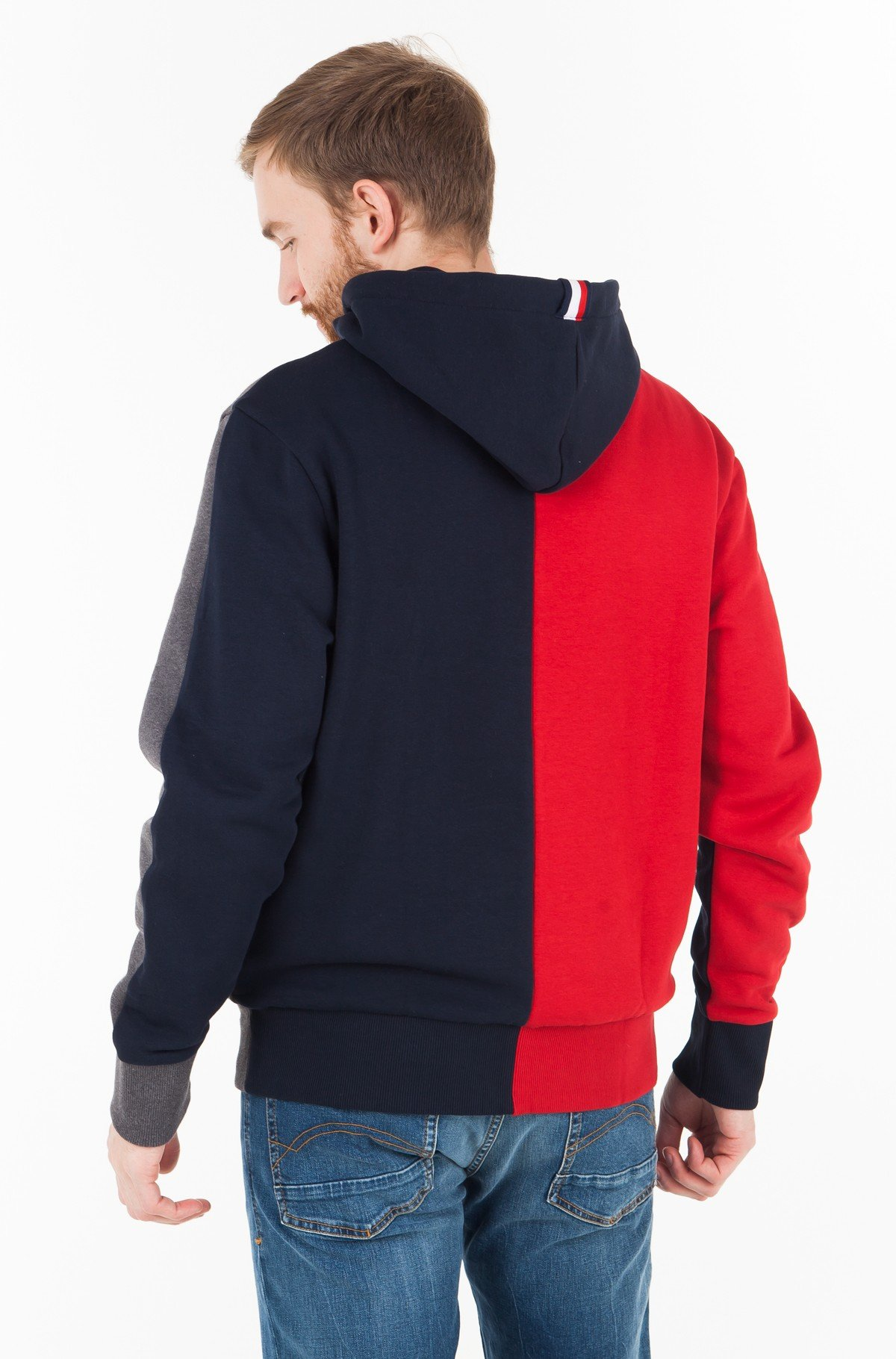 Džemperis RELAXED COLORBLCK GRAPHIC HOODIE	-full-2