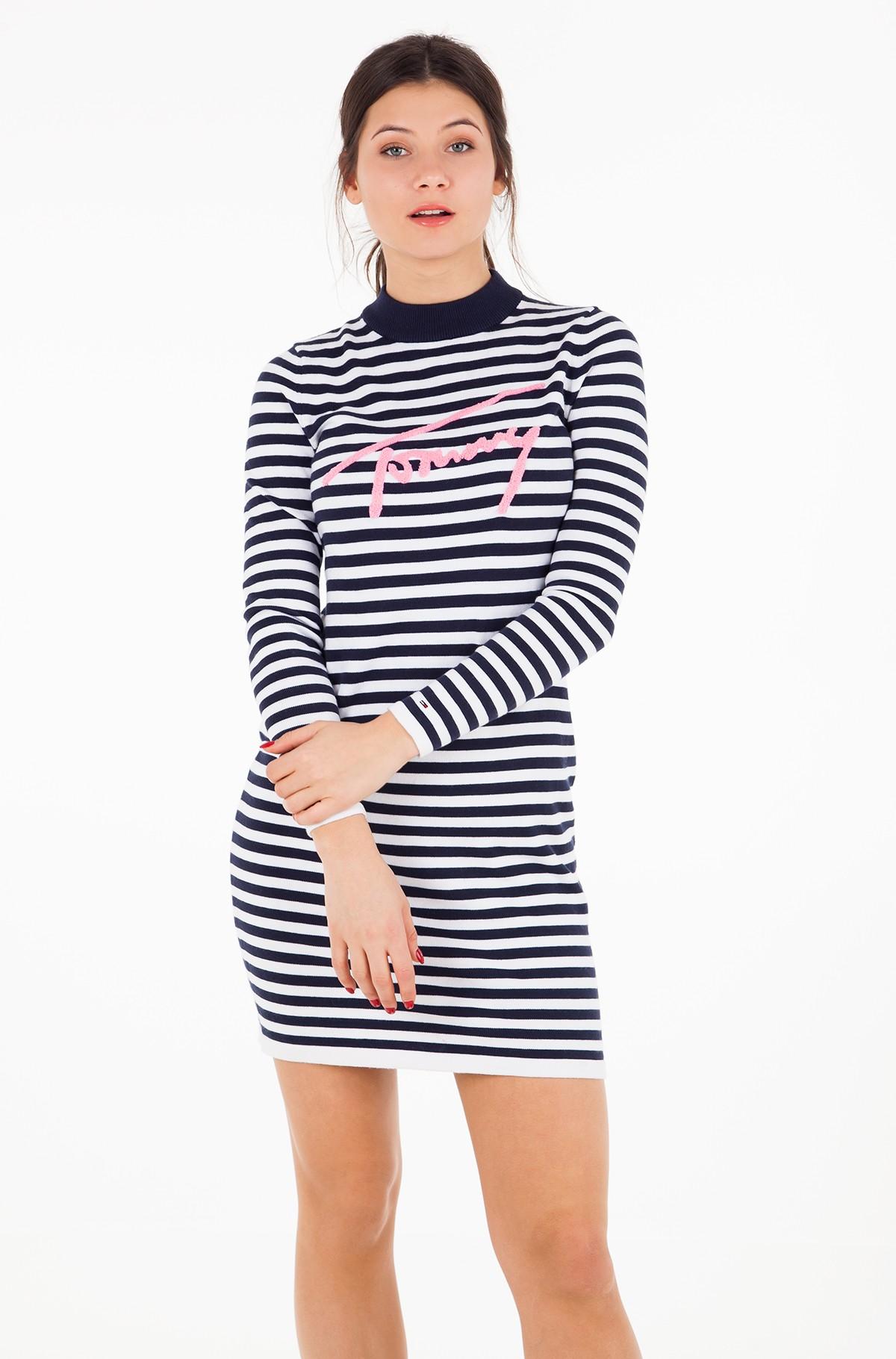 Kleit TJW LONGSLEEVE STRIPE DRESS-full-1