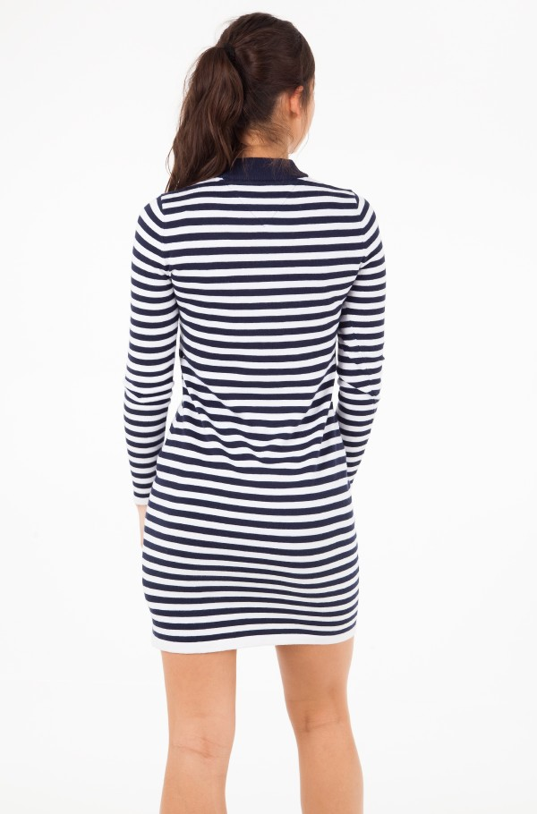 TJW LONGSLEEVE STRIPE DRESS-hover