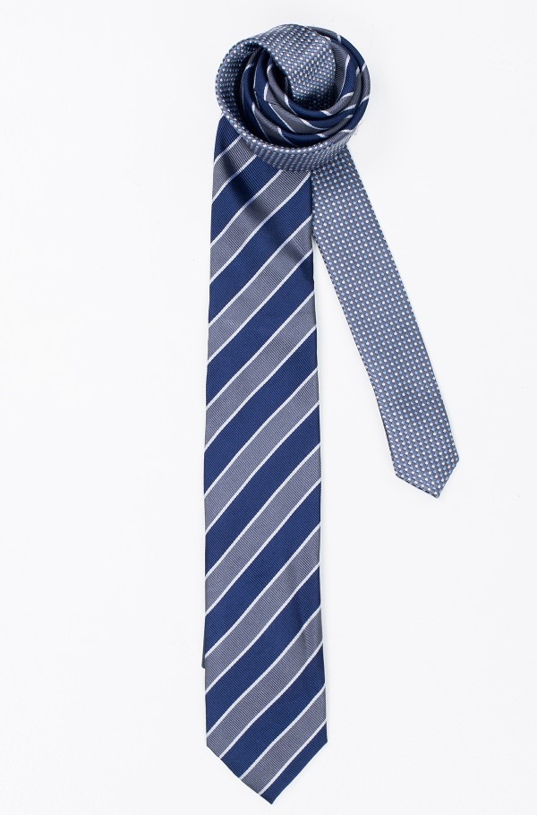 SILK STRIPED 7CM TIE