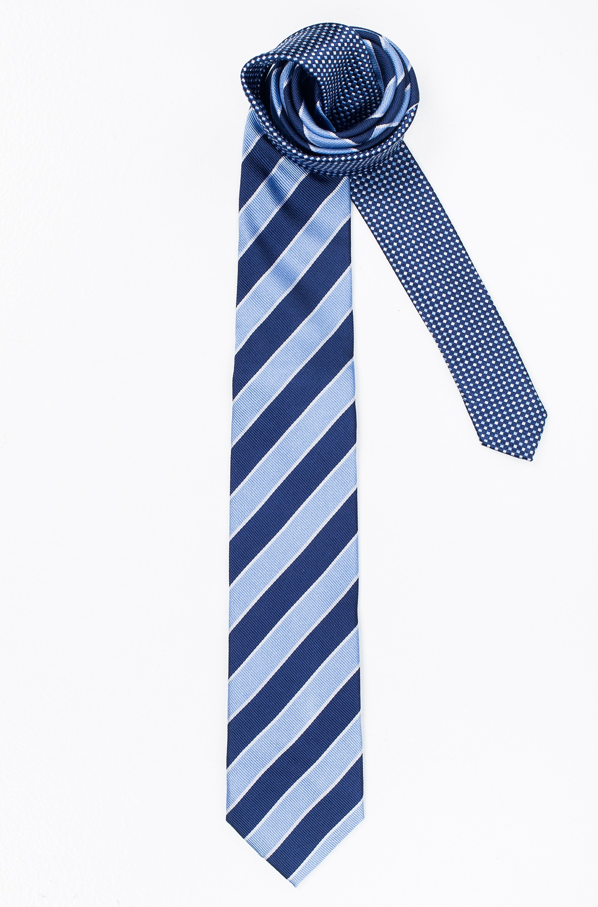 Kaklaraištis  SILK STRIPED 7CM TIE-full-1