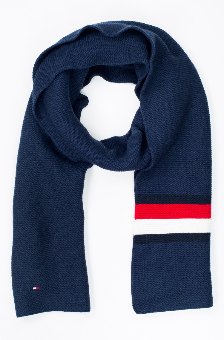 a69ec6a27413 sini Scarf HERITAGE CORPORATE KNIT Tommy Hilfiger, Mens Scarves ...