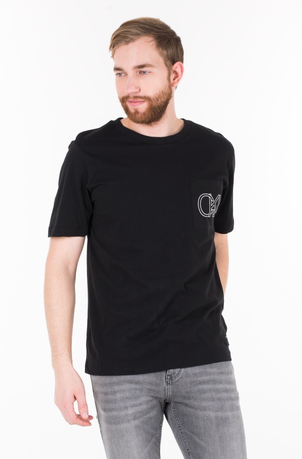 CKJ GRAPHIC  POCKET REGULAR TEE