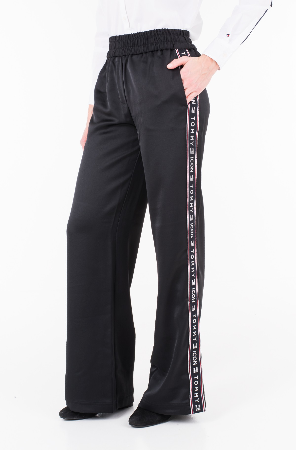 Trousers ICON ALINA FLARED CREPE PANT-full-1