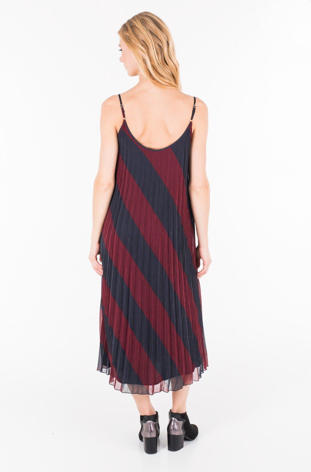Kleit ICON PLEATED SLIP DRESS-full-2