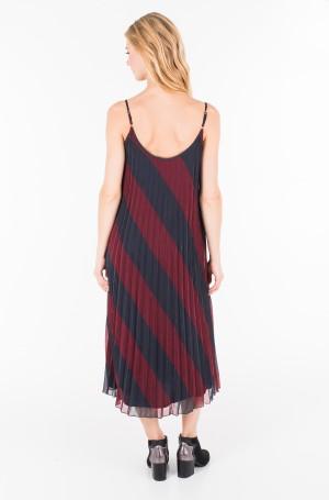 Kleit ICON PLEATED SLIP DRESS-2