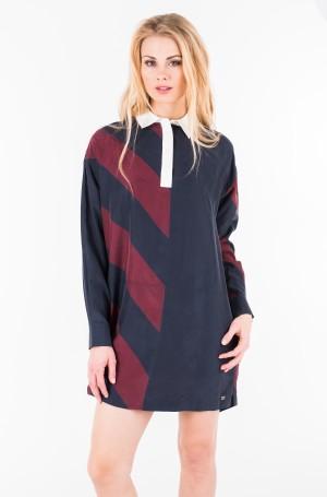 Suknelė ICON RUGBY SILK DRESS LS-1