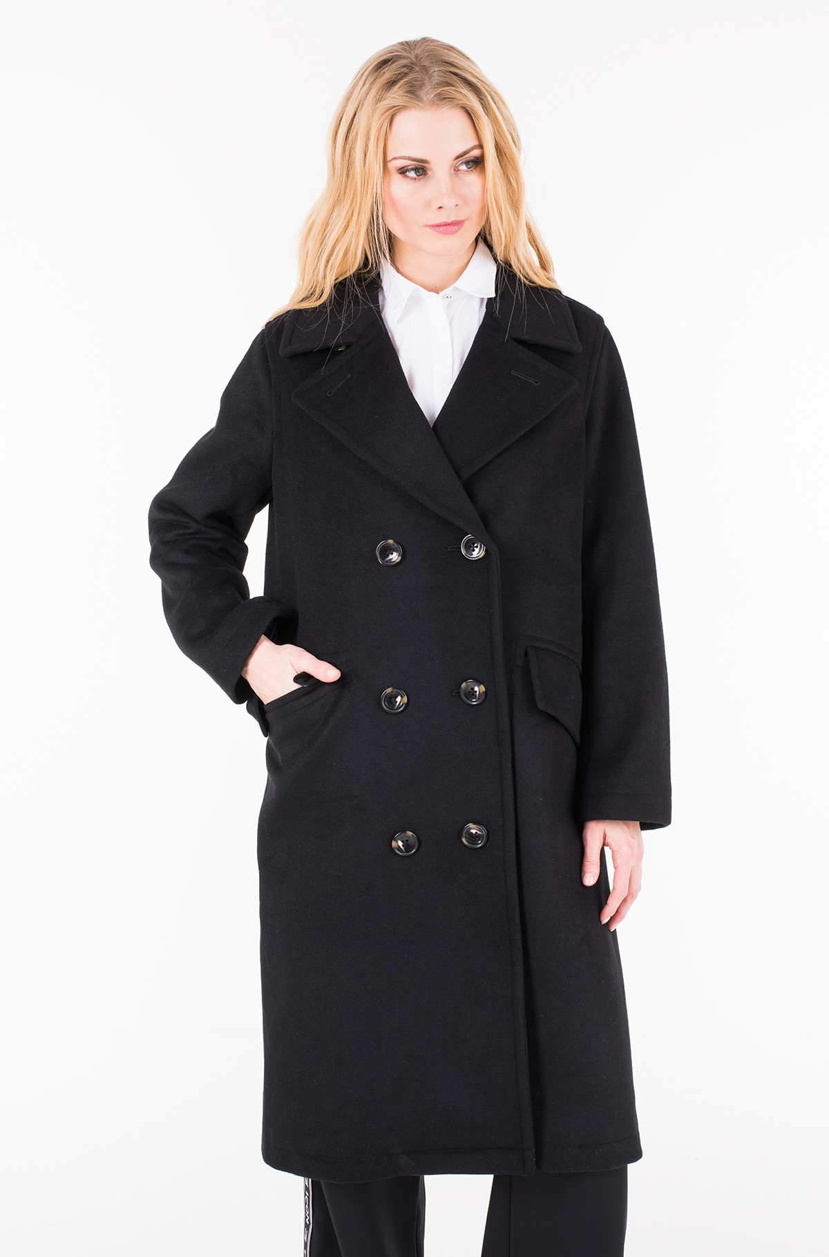 Paltas ICON CANDICE WOOL BLEND OVERCOAT-full-1