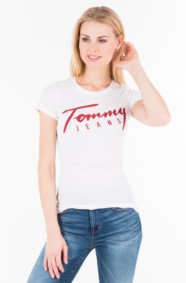 TJW TOMMY SCRIPT TEE