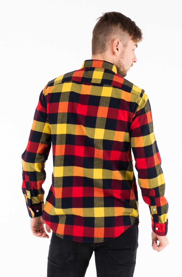BUFFALO CHECK FLANNEL SHIRT-hover