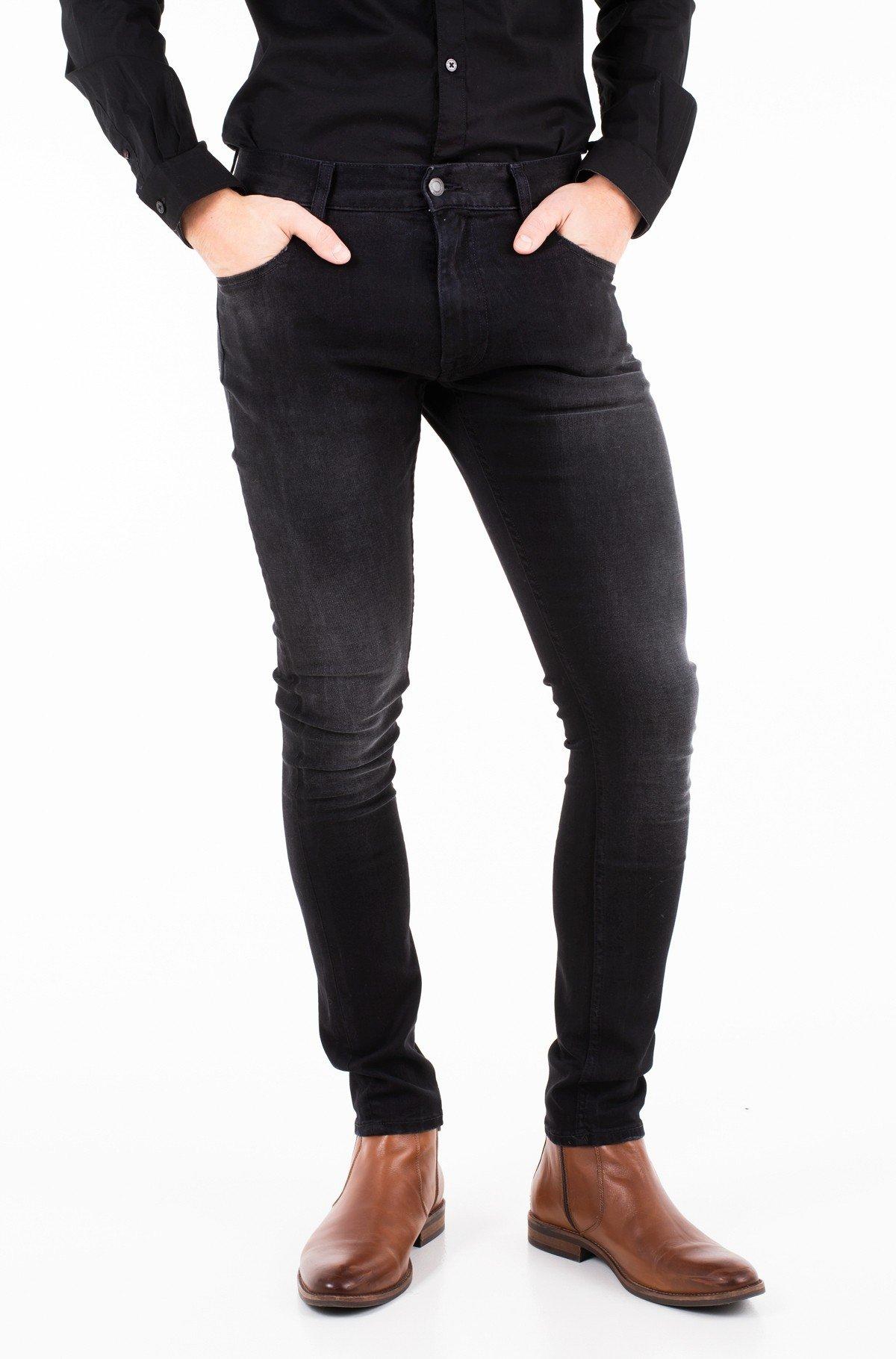 Džinsinės kelnės LEWIS HAMILTON BLACK STONE JEAN-full-1
