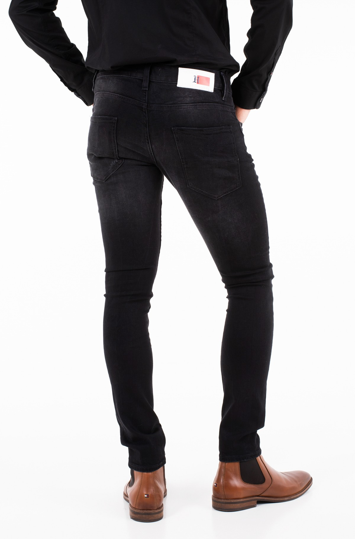 Jeans LEWIS HAMILTON BLACK STONE JEAN-full-2