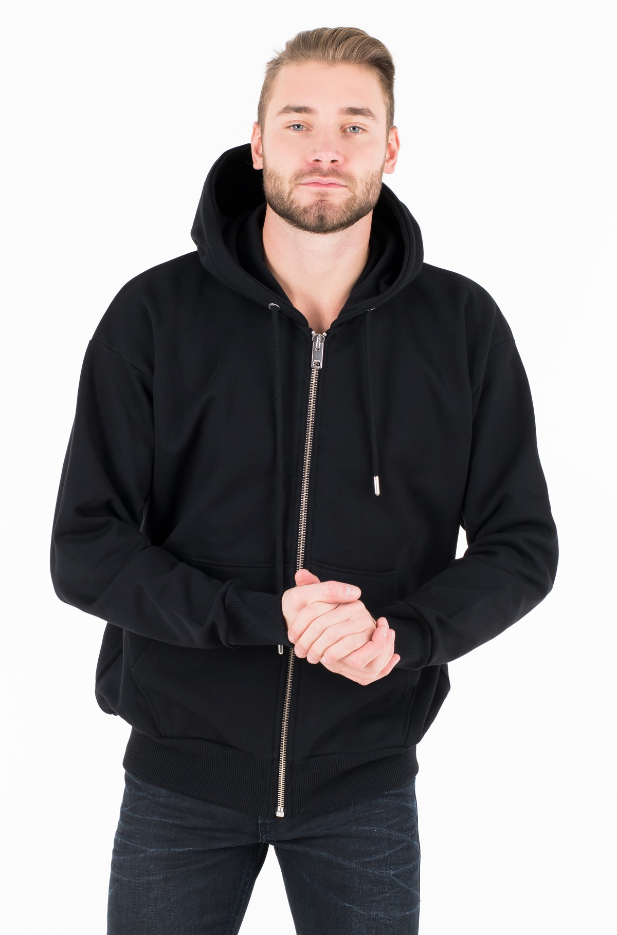 Hoodie 0IAEG S-ALBY-ZIP-YB SWEAT-SHIRT	-full-1