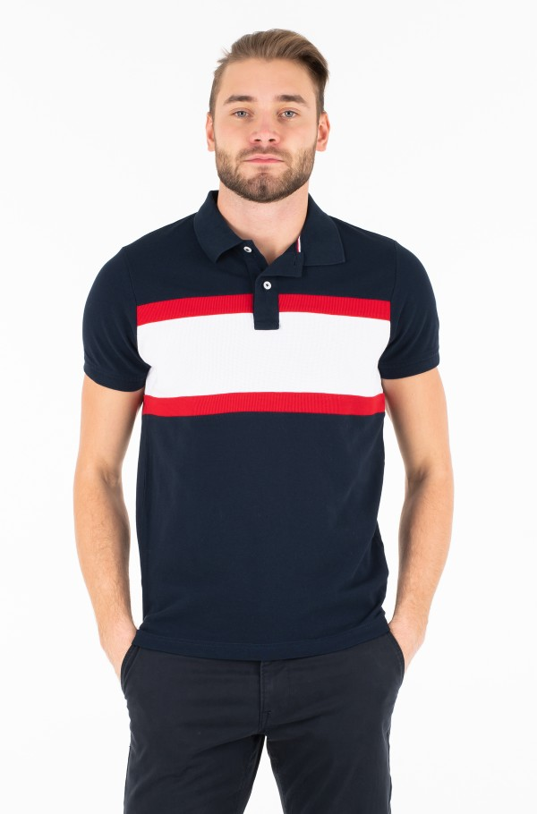 WCC CNS MIX TEXTURE SLIM POLO
