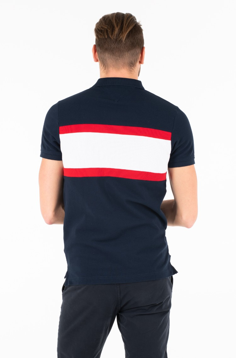 335d27040c9 Polo WCC CNS MIX TEXTURE SLIM POLO Tommy Hilfiger, Mens Polo shirts ...