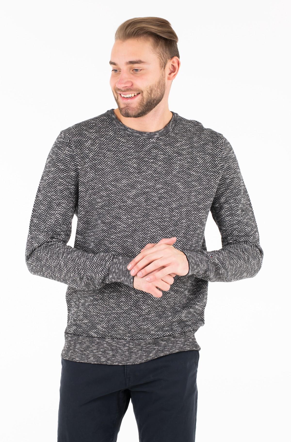Džemperis SOFT HERRINGBONE CNECK-full-1