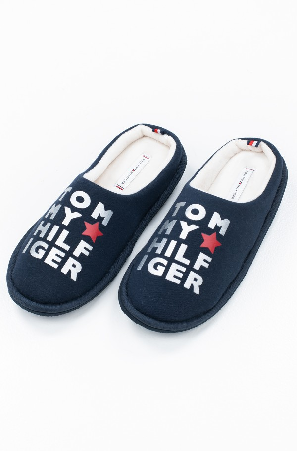 METALLIC PRINT HOME SLIPPER
