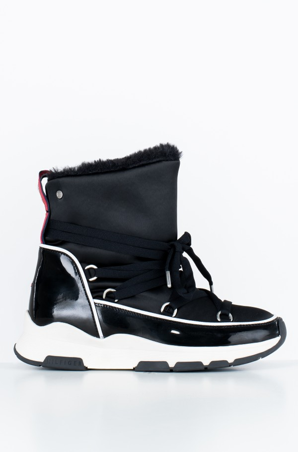 COOL TECHNICAL SATIN WINTER BOOT