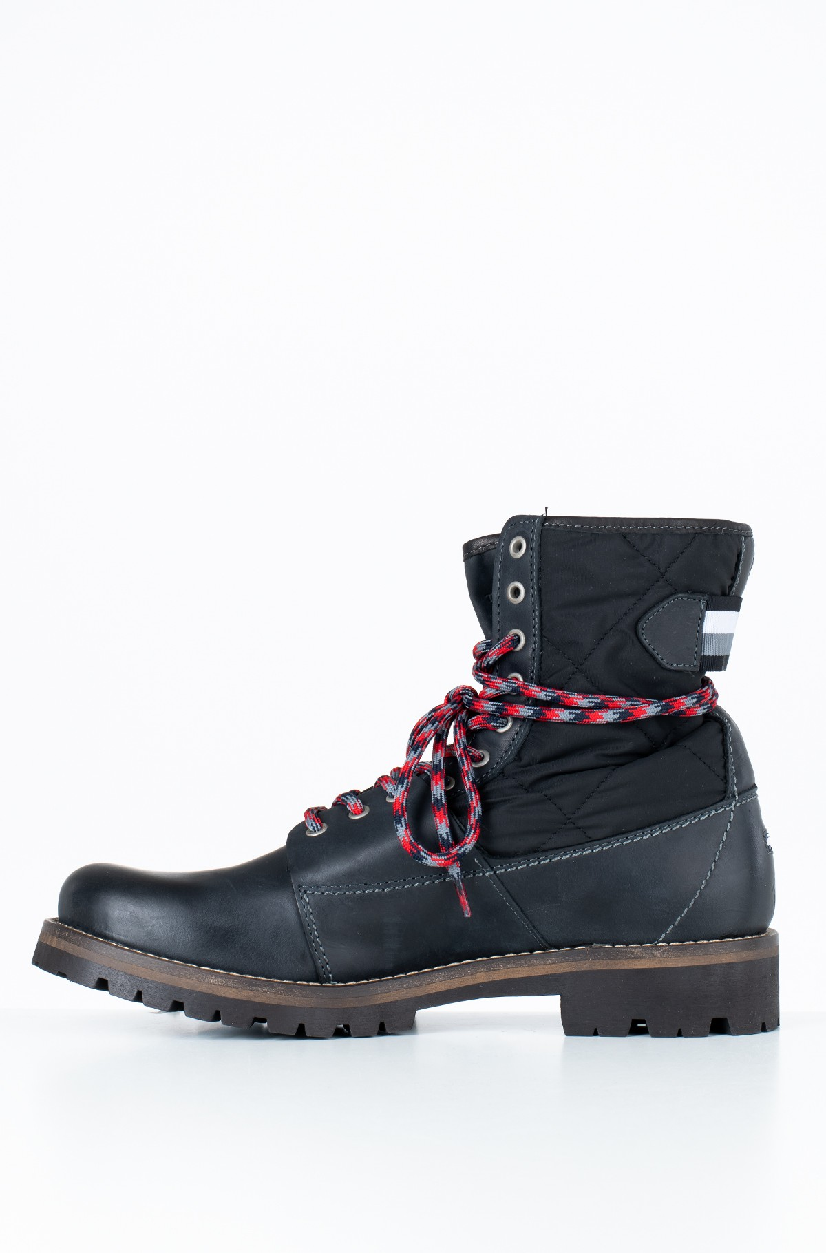 Ilgaauliai HIGH MATERIAL MIX WINTER BOOT-full-2