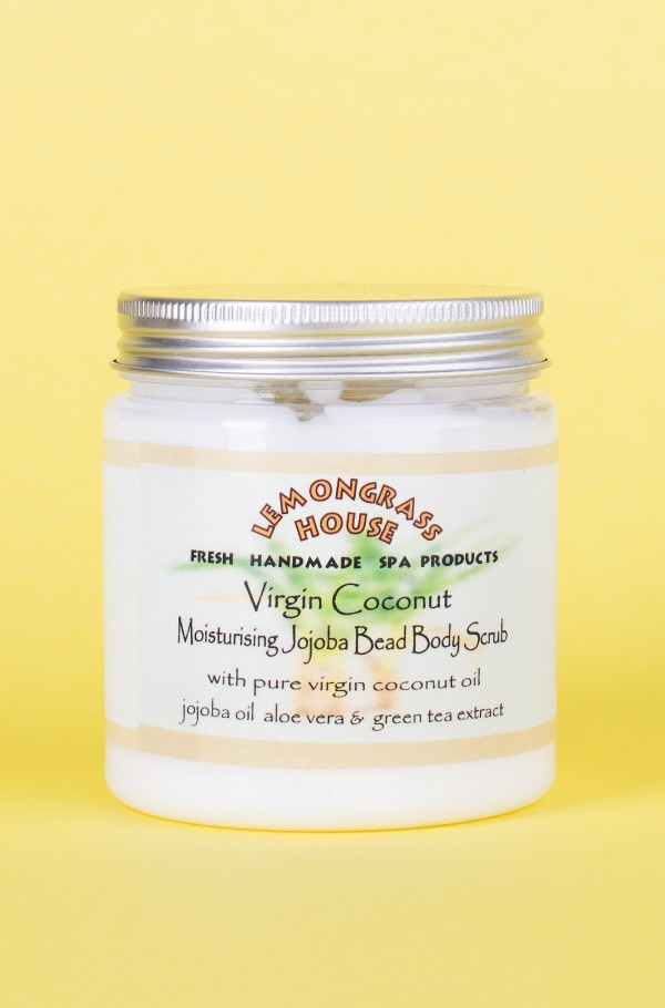 BODY SCRUB JOJOBA BEAD VIRGIN COCONUT 300g