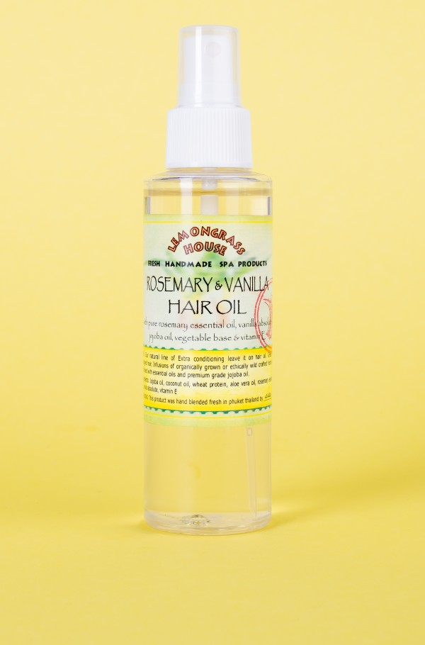 HAIR OIL ROSEMARY/VANILLA 120ml