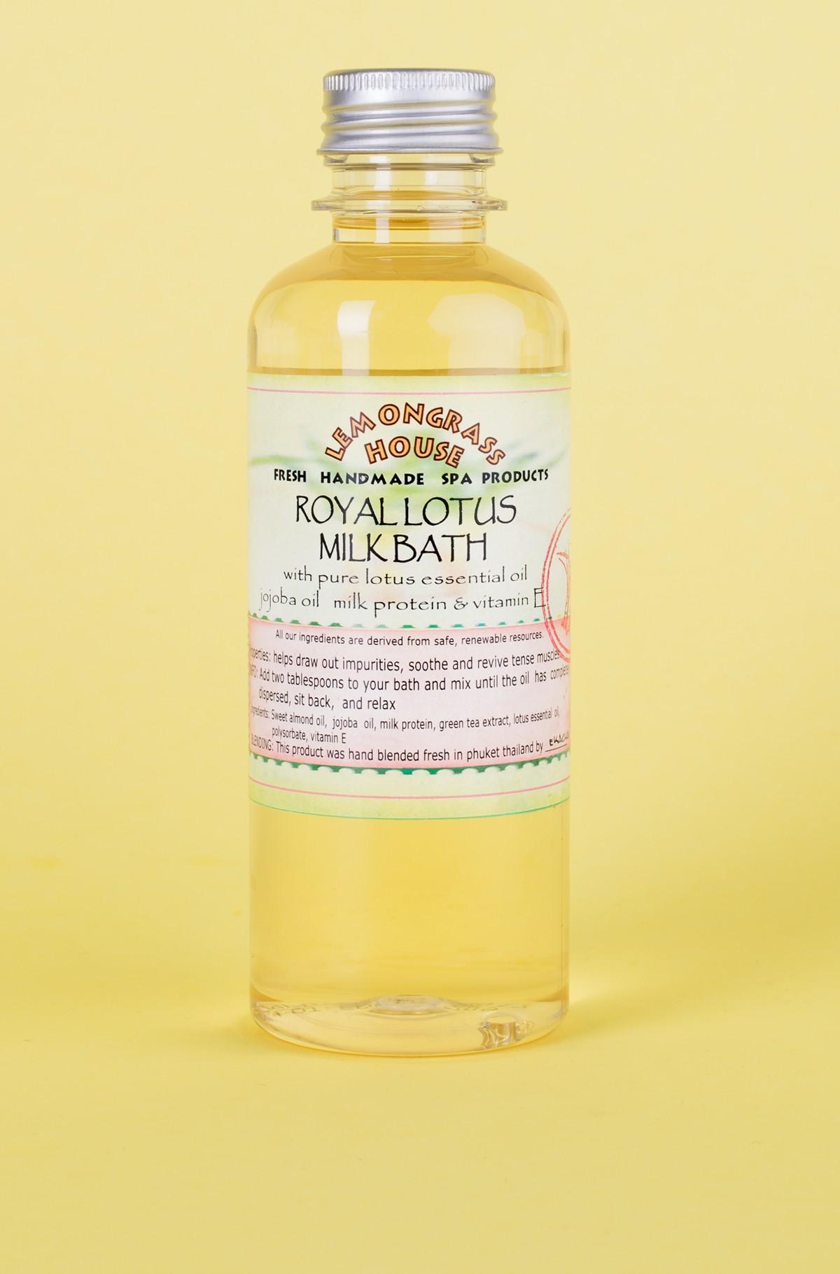 Bath milk Royal Lotus-full-1